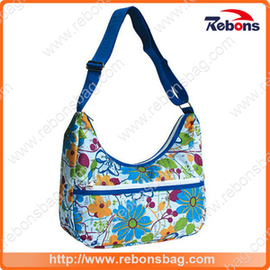 Allover Pattern Flower Printed Handbags