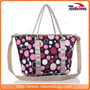 Latest Popular Adult Printed Mummy Tote Handbag Shoulder Bag for Baby