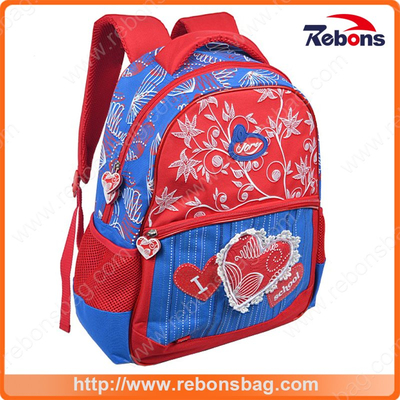 Reinforced Design Lace Pattern School Backpack School Bags for Children