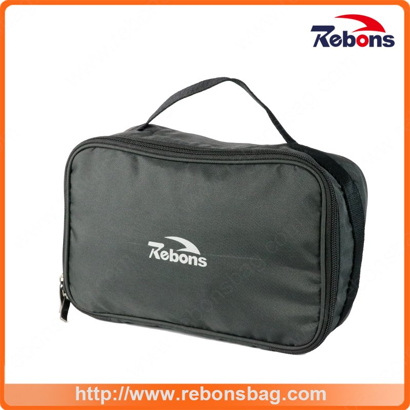 Black Travel Cosmetic Bag Mens Designer Wash Bags