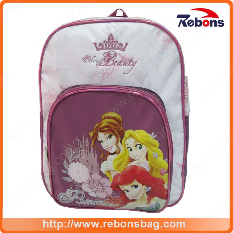 3D Cartoon Picture Child Beauty Cheap Book Bags
