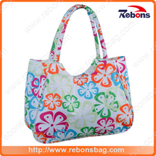 Hot Sale Patterned Floral Beach Bag for Swimming SPA Beach