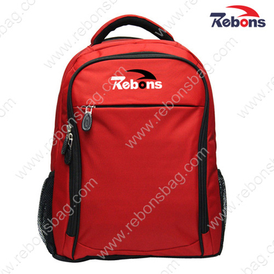 Red Laptop Computer Laptop Bag Backpack Rucksack for Lady, Woman