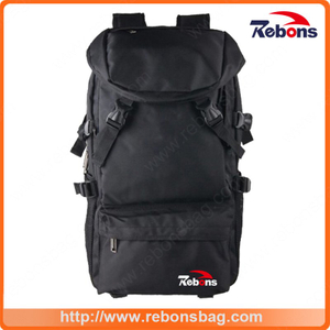 All Black Hiking Backpack Travel Backpack with Big Capability