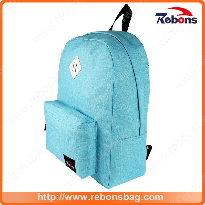 Polyester Design Rucksack Lady Dual Backpack Daypack Manufacturer