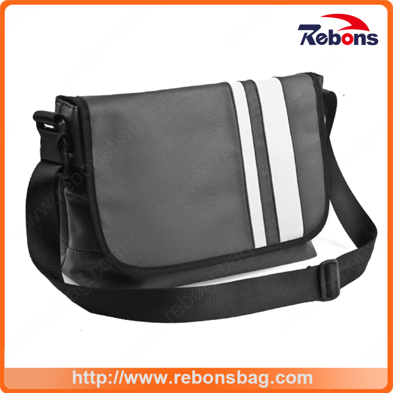 Nice Quality First-Rate Cotton Canvas Printed Inflatable Shoulder Bag Messenger Bags for Teenagers School University