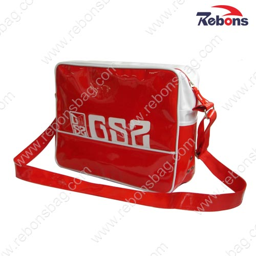 Shiny PVC Waterproof Sling Shoulder Crossbody Bags for Teenagers