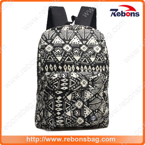 Totem Pattern External Frame Backpacks Trendy Backpacks