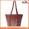 Premium Quality Khaki Allover Pattern Canvas Hand Bag for Promotion