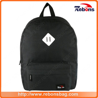 Custom Best Polyester Black Boy School Hiking Backpack Bags
