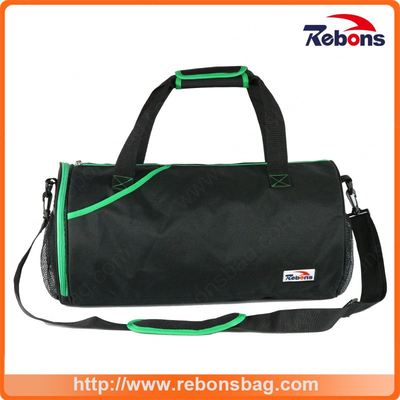 Promotional Male Football Outdoor Sports Shoulder Bag with Shoe Compartment for Men