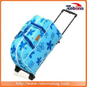 New Arrival Luggage Backpack Trolley Bag Trolley Laptop Bag with Wheels