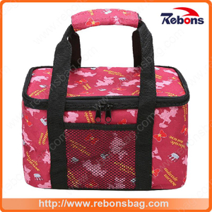 Allover Pattern Lunch Box Insulated Lunch Bags